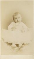 Nan Randolph, baby, formal portrait