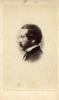 William Parker Foulke, bust, formal portrait, profile, no.1