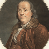 Benjamin Franklin Ne a Boston le 17 Janvier 1706.