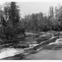 Berens River rapids, downstream
