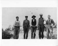 F-190: Five men, portrait
