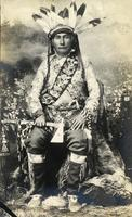 """Chief Wingard in Full Dress"""