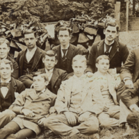 Abington Friends School, group portrait, 1892.