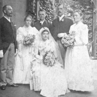 Bridal Party, 1890.