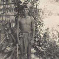 A Bontoc Igorot man, Bontoc, Philippines.