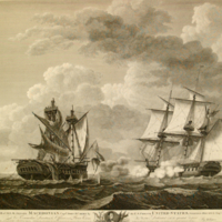 Capture of H. B. M. frigate Macedonian, Captain John S. Carden by the U. S. frigate United States, Stephen Decatur, Esq., Commander.