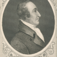 Profile portrait, identified by caption as Thomas Paine.