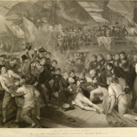 The Death of Lord Viscount Nelson.