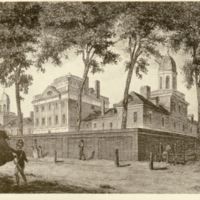 The Pennsylvania Hospital, 1799.