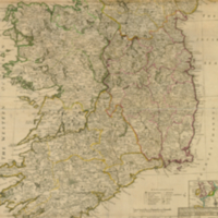 A new map of Ireland divided into its provinces, counties and baronies