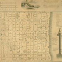 This new map of the city of Philadelphia for the use of fire men and others is most respectfully dedicated to the citizens and members of the engine & hose companies, by . . . John A. Paxton.
