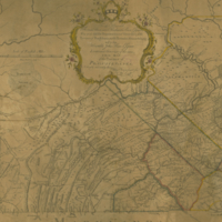 To the Honorable Thomas Penn and Richard Penn . . . and to John Penn . . . map of the province of Pennsylvania.