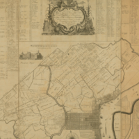 . . . .Map of the city and liberties of Philadelphia, with the catalogue of purchasers, is humbly dedicated by their most obedient humble servant, John Reed.