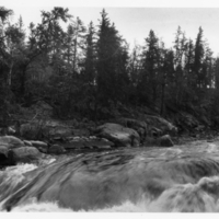 Berens River, above Moose Falls