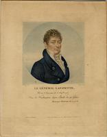 Le General Lafayette, Ne en Auvergne le 6 Sep.bre 1757. Ami de Washington. Digne Emule de sa Gloire. Campagne d'Amerique de 1777.