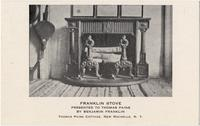 Franklin Stove presented to Thomas Paine by Benjamin Franklin