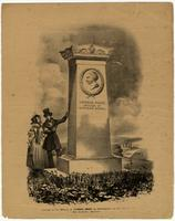 Erected to the Memory of Thomas Paine, by Subscription, on his Farm at New Rochelle, America.
