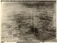 Aerial Photograph, France 1918