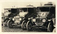 McLane and Houston's cars at Dombasle