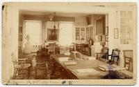 East Meeting Room of the American Philosophical Society, Looking East, [1889]