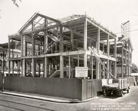 Construction of Library Hall