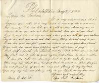 Elisabeth Velora Elwell to Albert G. Jackson, 1862 May 2