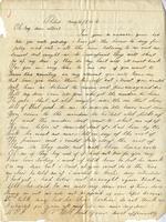 Elisabeth Velora Elwell to Albert G. Jackson, 1862 May 11