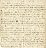 Hollinger, Mrs. to Albert G. Jackson, 1862 May 11