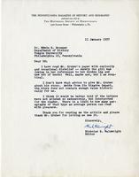 Nicholas B. Wainwright to Edwin B. Bronner, 1957 Jan. 11