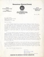 Edwin Iwanicki to Jacob W. Gruber, 1965 May 21